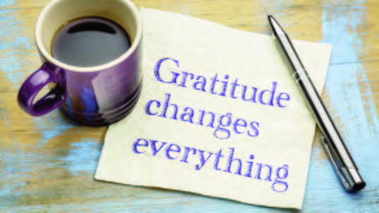 Thanksgiving/Cultivating Gratitude